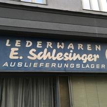 """Lederwaren E.<span class=""""nbsp""""></span>Schlesinger"""