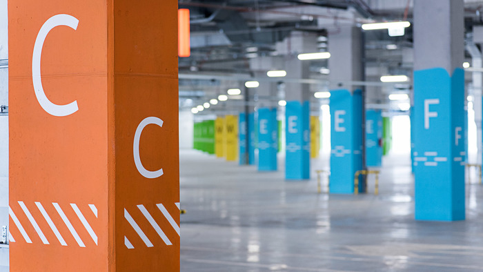 Wayfinding in Gemini Park Tychy 10