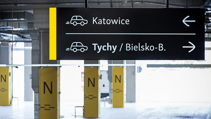Wayfinding in Gemini Park Tychy 12