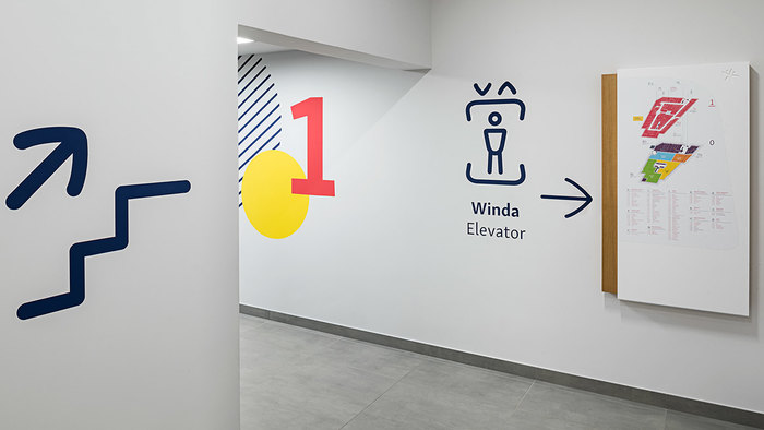 Wayfinding in Gemini Park Tychy 1