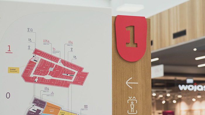 Wayfinding in Gemini Park Tychy 8
