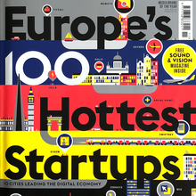 "<cite>Wired </cite>(UK) magazine, ""Europe's 100 Hottest Startups"", Nov 2013"