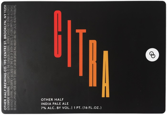 India Pale Ale series by Other Half 1