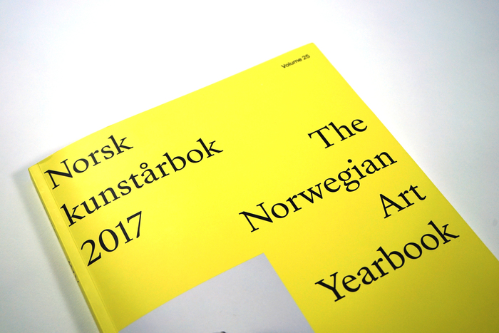 The Norwegian Art Yearbook 2