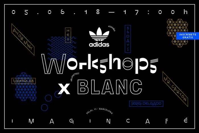 Adidas Originals Workshop × Blanc 1
