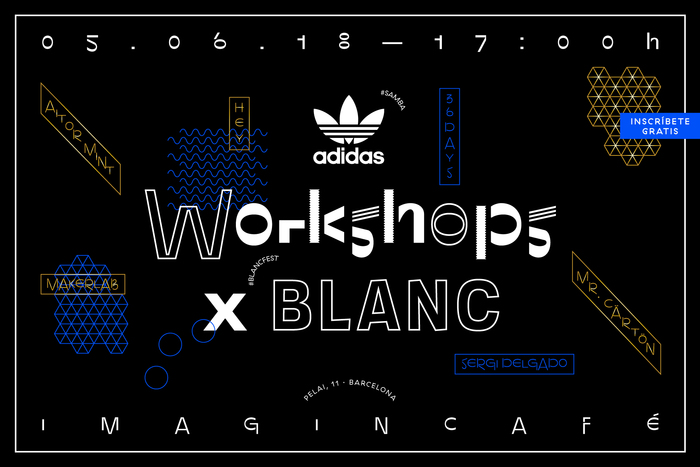 Adidas Originals Workshop × Blanc 1