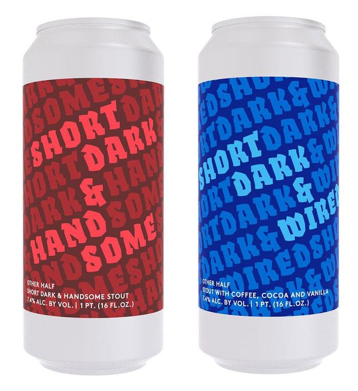 Short Dark stout series by Other Half 3