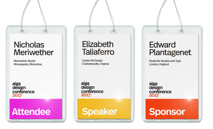 AIGA Design Conference system 2
