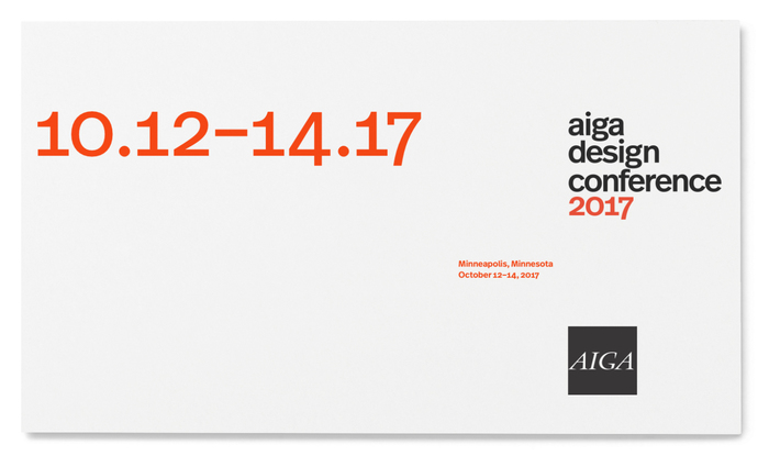 AIGA Design Conference system 3