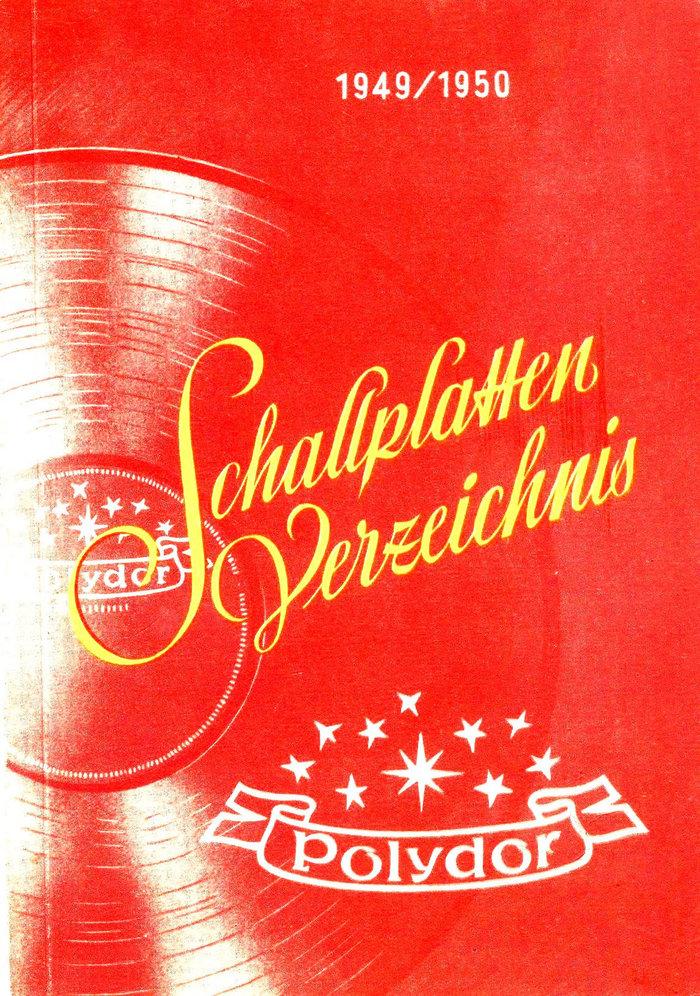 Polydor Schallplatten-Verzeichnis 1949/50 1