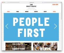 Draft House website (2018 redesign)