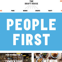 Draft House website (2018 redesign)