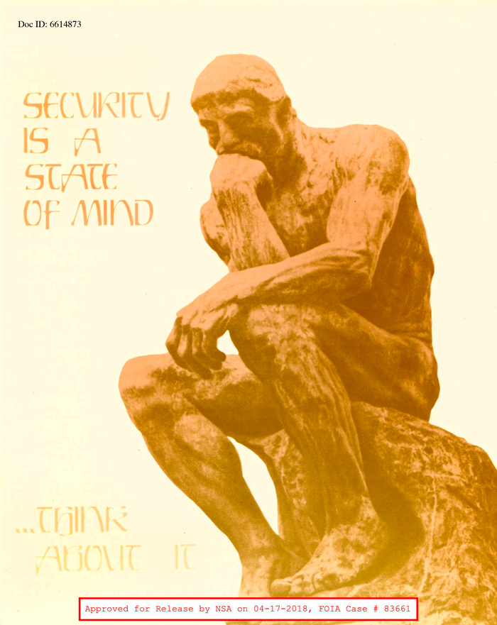 Is Rodin's Thinker and all-caps Rustikalis a good combo? Think about it.