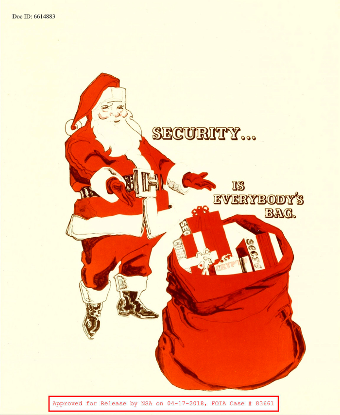 Santa comes with a bag of confidential crypto secrets, and  Beton Open.