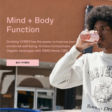 VYBES organic beverages