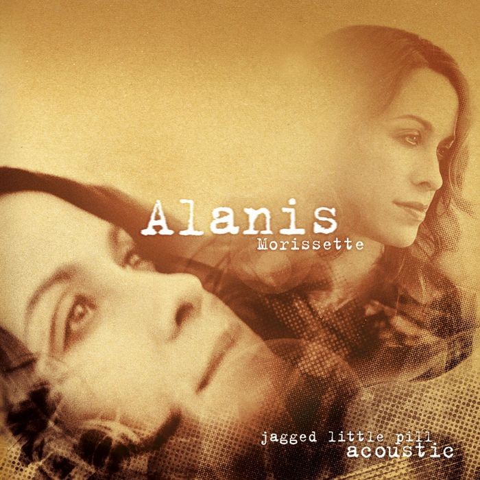 In 2005, ten years after Jagged Little Pill, an (enhanced) acoustic version of the album was recorded and released. All text now is set in FF Trixie.