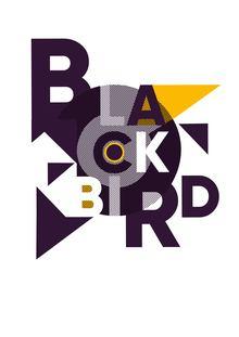 """""""Blackbird"""" poster"""