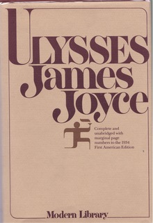 <cite>Ulysses</cite> by James Joyce, Modern Library