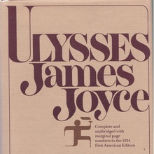 <cite>Ulysses</cite> by James Joyce