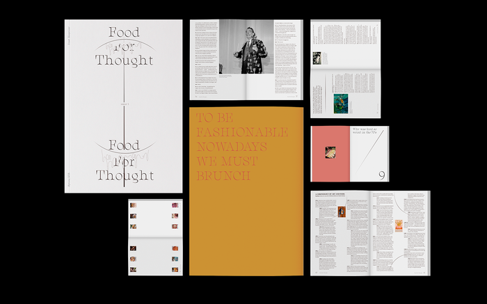 Feast Magazine No. 1: Food For Thought 1