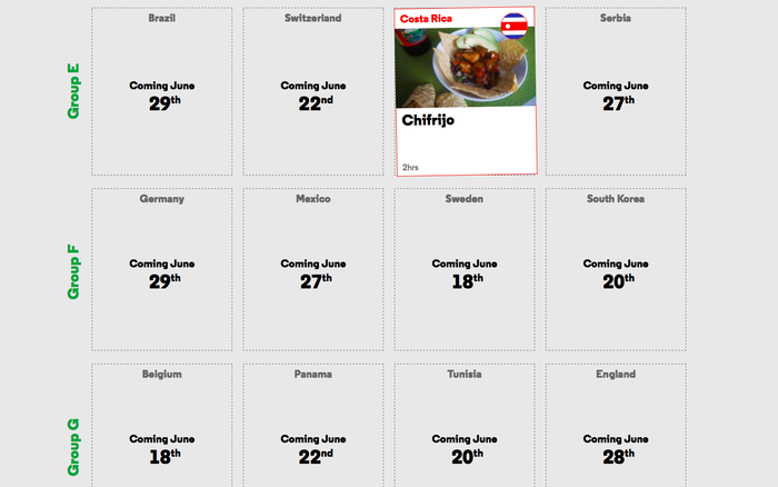 The World Cook website 3