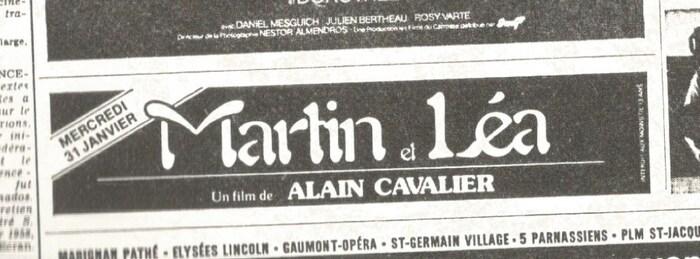 Martin et Léa movie poster 2