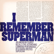 """I Remember Superman"", <cite>Avant Garde</cite> No.<span class=""nbsp""> </span>4"