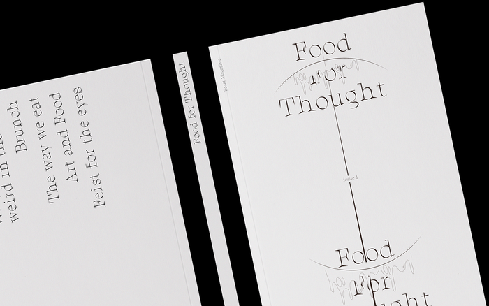 Feast Magazine No. 1: Food For Thought 2