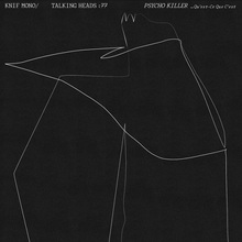 """Knif Mono: Psycho Killer"" poster"