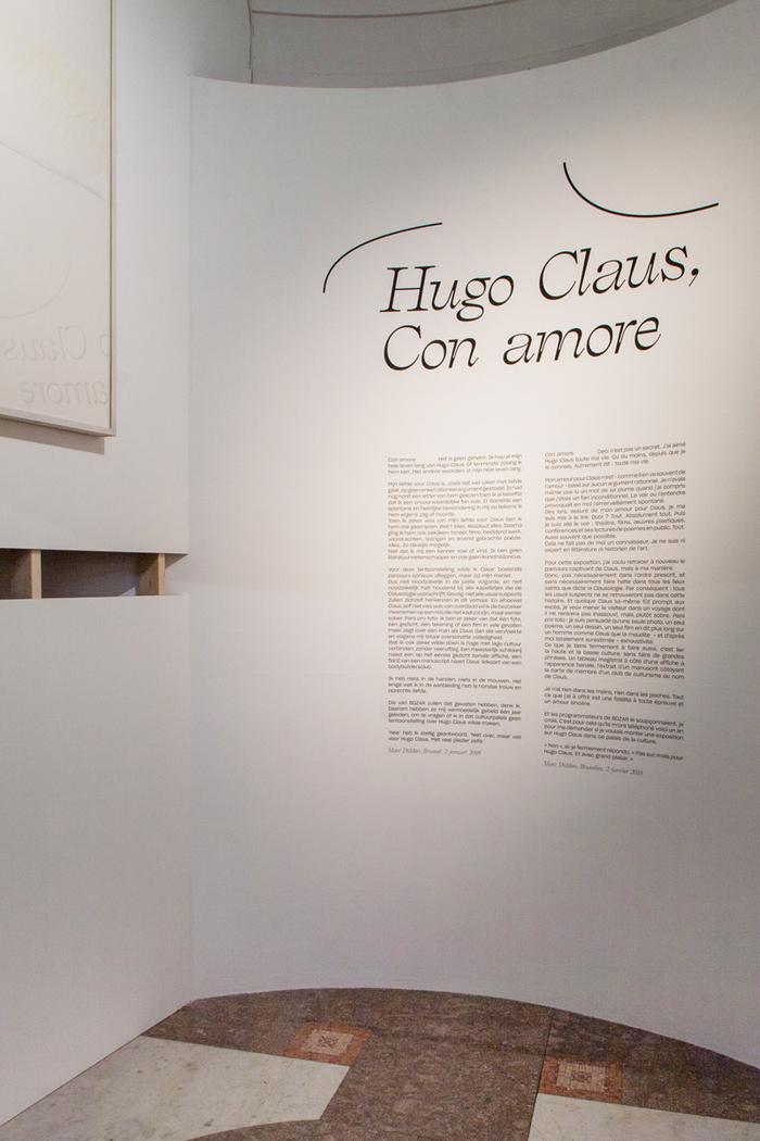 Hugo Claus, Con Amore 3