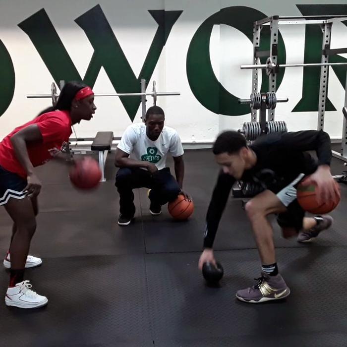 Patrick School gym renovation by Kyrie Irving & Nike 2