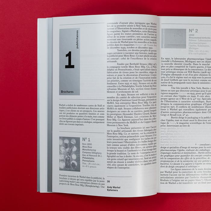 Andy Warhol Ephemera catalog 6