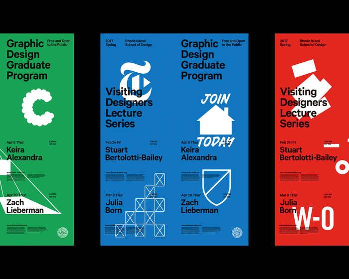 2017 RISD Visiting Designers posters 1