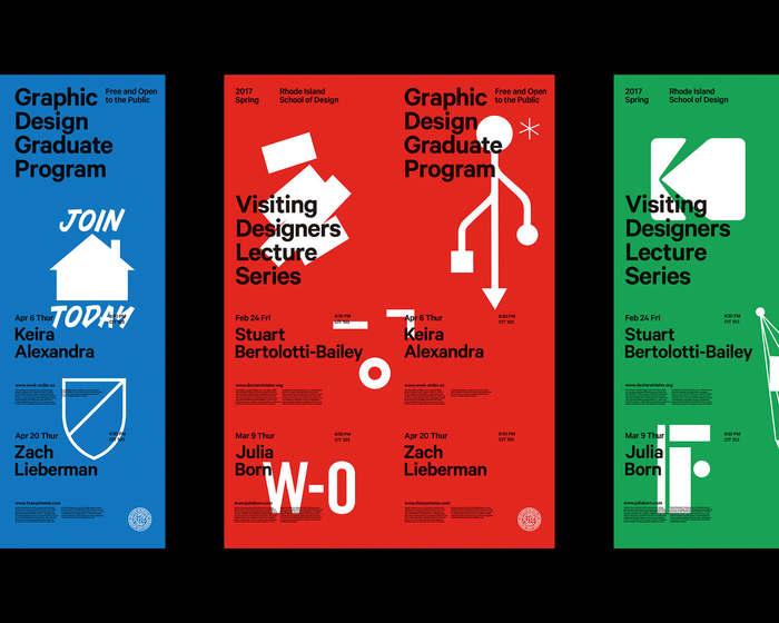 2017 RISD Visiting Designers posters 2