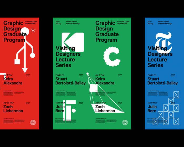 2017 RISD Visiting Designers posters 3