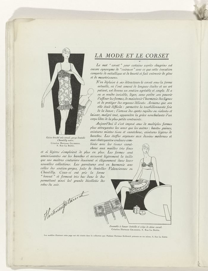 Page 18, corsets.