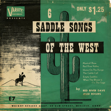 <cite>6 Saddle Songs of The West</cite>