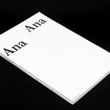 <cite>Ana</cite> by Ricardo Nicolau
