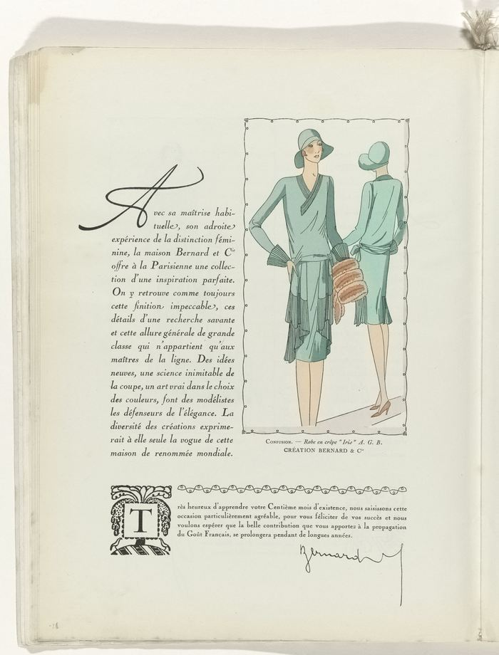 Cover with a hand-lettered nameplate and tagline. The information on the bottom of the page is set in Cheltenham on the left and Nicholas Cochin on the right hand.