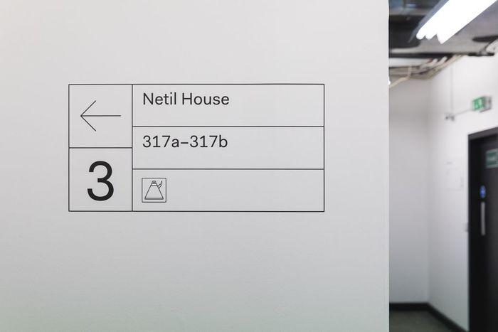 Netil House signs 2