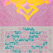 Taj Majal, Creedence Clearwater Revival, Electro Luminescense, etc. at the Avalon Ballroom, May 31, 1968