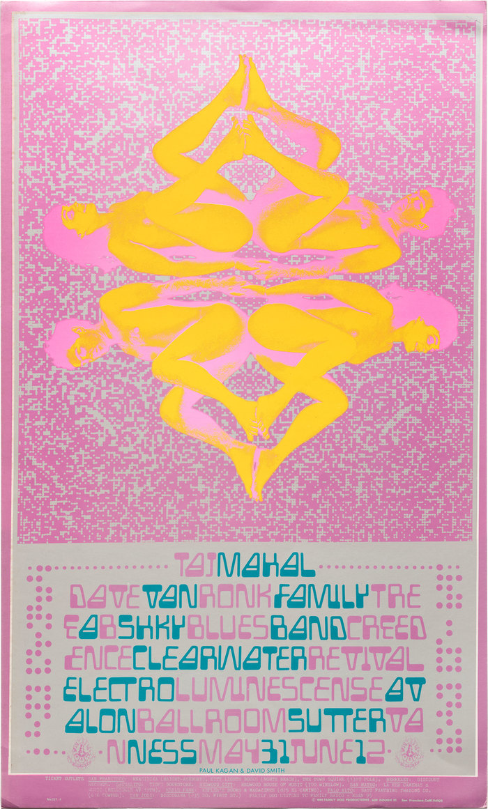 Taj Majal, Creedence Clearwater Revival, Electro Luminescense, etc. at the Avalon Ballroom, May 31, 1968 1