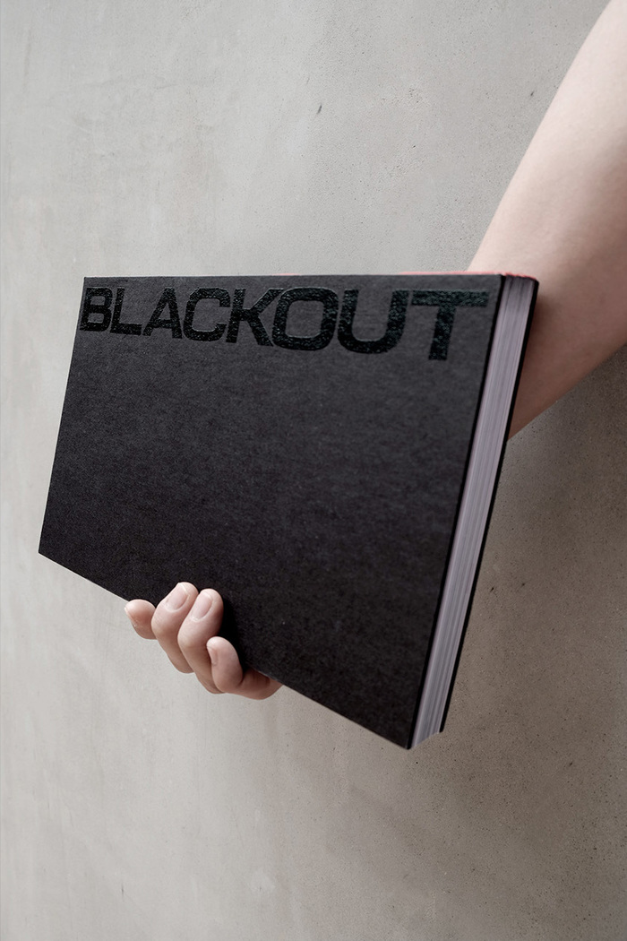 Blackout exhibition publication 1
