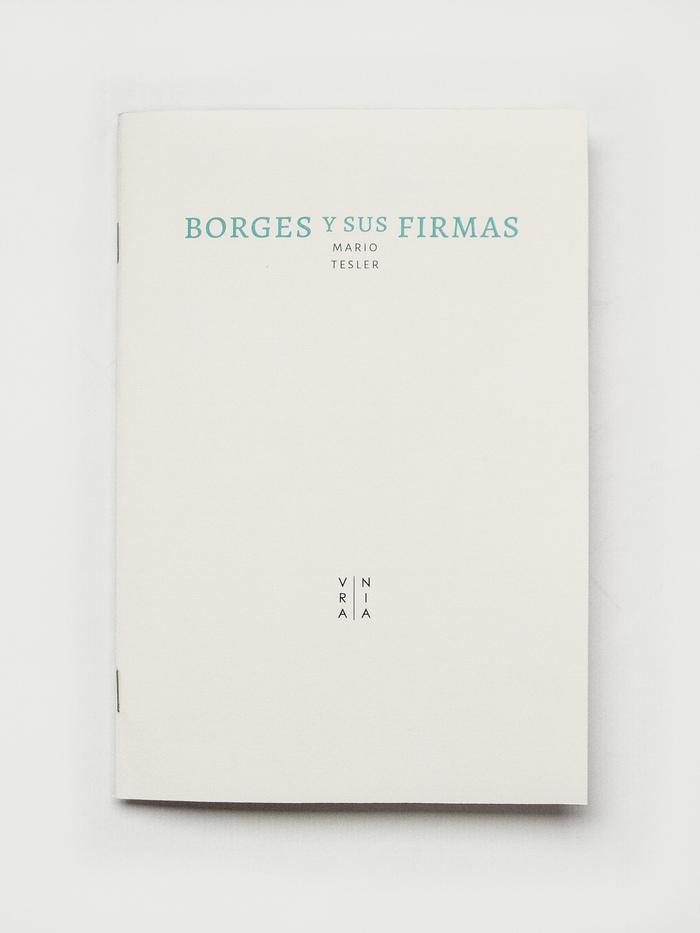 Borges y sus firmas 1