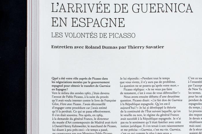 Guernica exhibition catalog 4