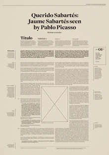 Master conferences Jaume Sabartés poster
