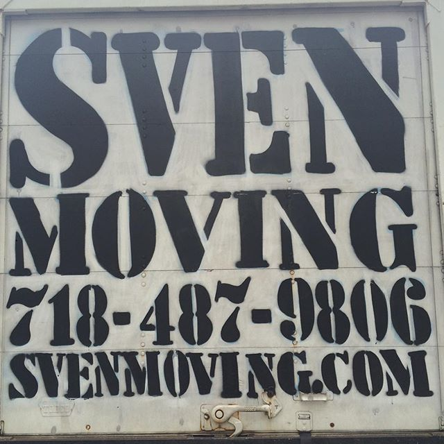 Sven can take a punch: stenciled, spray-painted, painted over and re-painted again.