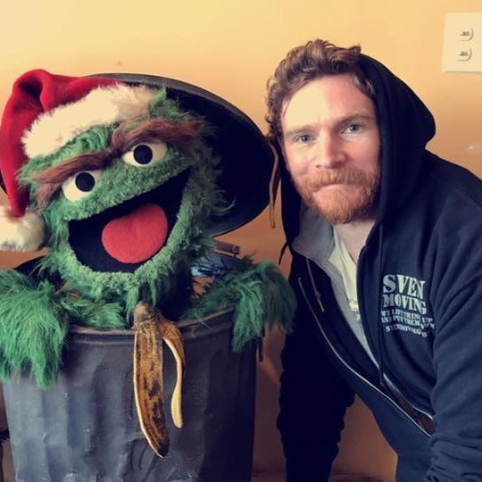 "@Svenmoving (Instagram, Feb 13, 2017) ""Sven Moving has the honor of moving Jim Henson's Studios in NYC"""