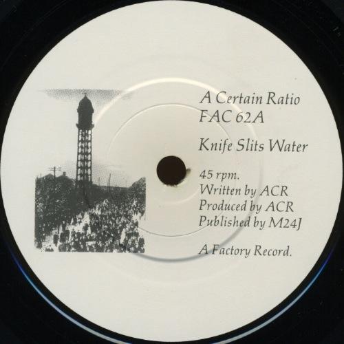 Vinyl label.