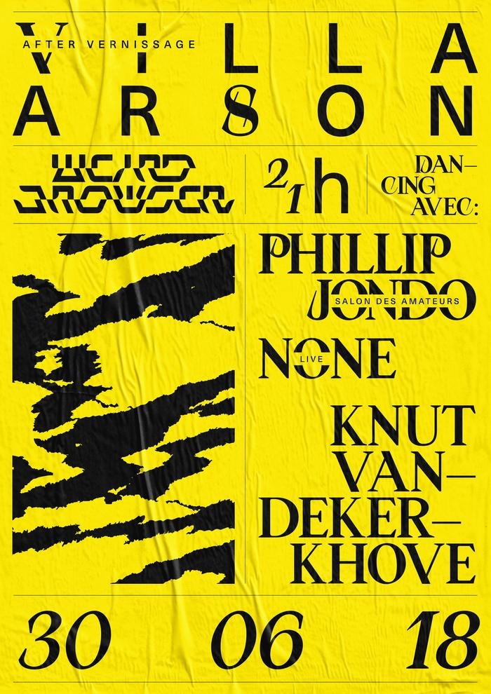 Weirdbrowser poster series 1